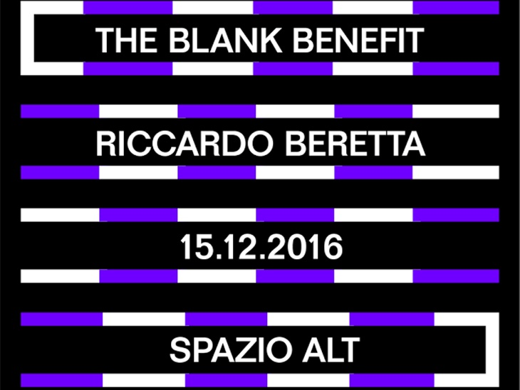 THE BLANK BENEFIT