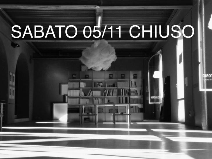 CHIUSURA Museo sabato 05/11